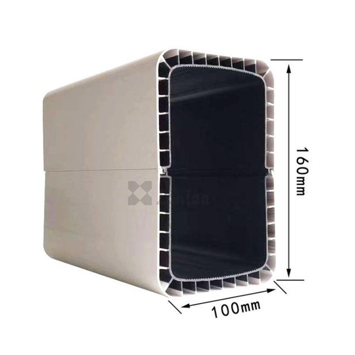 PVC NFT hydroponic channel 6