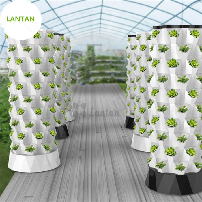 VERTICAL HYDROPONIC GROW TOWER