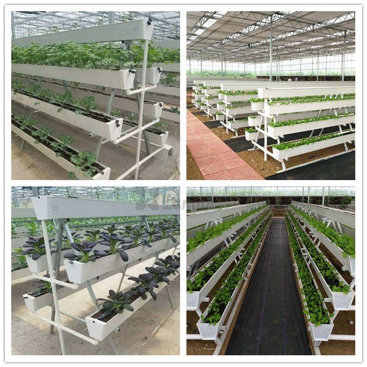 PVC PLANT GROWING GUTTER
