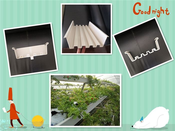 PVC Cultivation Bag gutter (Type 1)