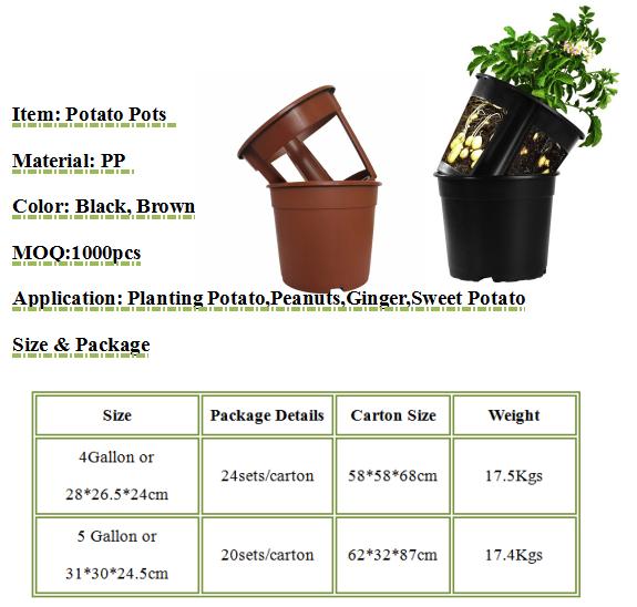 POTATO PLANTING POTS