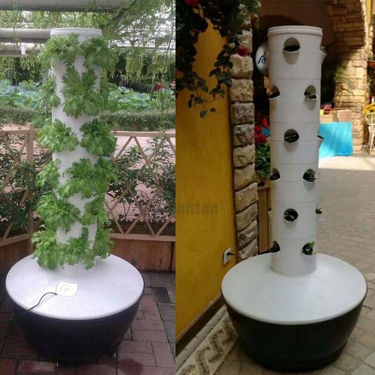 Hydroponic Vertical Planting Tower